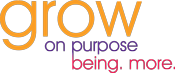 Grow. On Purpose Logo